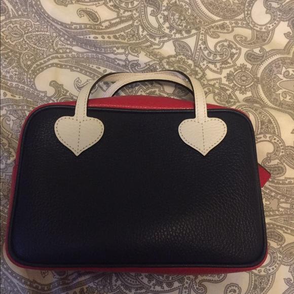 GUCCI-Red, White & blue mini bag